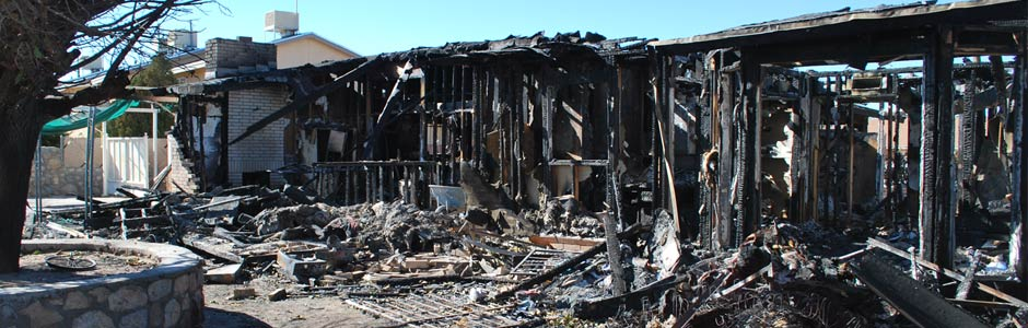 Construction Equipment Burned in Fire - Fire & explosion investigation in Texas